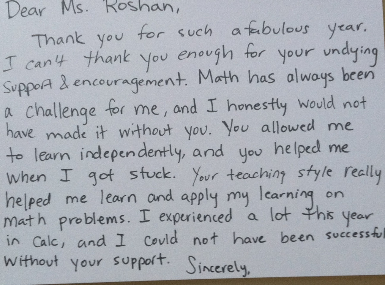 thank you letter for cooperating teacher from student sample formal thank you letter to teacher