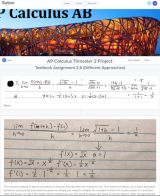Documenting Growth & Connecting Knowledge in #APCalculus Using @SutoriApp + @Flipgrid + @SocraticOrg #edtech