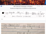 Documenting Growth & Connecting Knowledge in #APCalculus Using @SutoriApp + @Flipgrid + @SocraticOrg#edtech