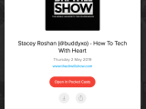 Podcast: The Dr Will Show — How To Tech With Heart @iamDrWill #TechWithHeart #DBCincBooks