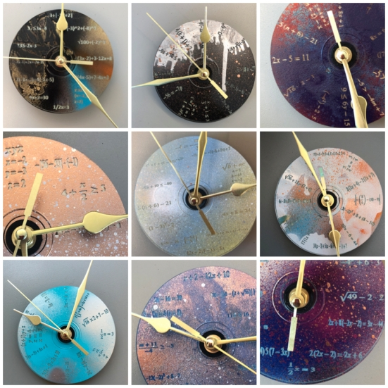 Clock Collage