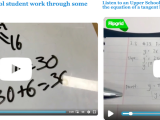 #EdTech Spotlight: Utilizing technology to enhance math thinking @BullisSchool  #mathchat #mtbos @Flipgrid @joboaler