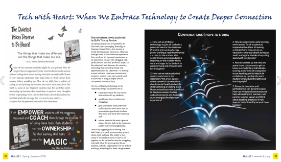 Bullis Magazine Tech with Heart Feature.png