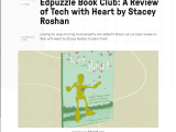 Edpuzzle Book Club: A Review of #TechWithHeart by @Edpuzzle #edtech #flipclass