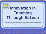 Innovation in Teaching Through #Edtech @Flipgrid @usekamiapp@PearDeck